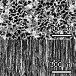 Application of nanoporous silicon substrates for terahertz spectroscopy